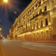 St. Petersburg at night HDR — Foto Stock