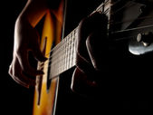 Guitar blues — Stock Photo