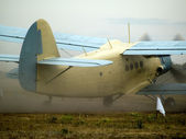 AN-2 taxiing — Stock Photo