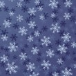 Royalty-Free Stock ベクターイメージ: Snowflake Background