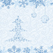 Royalty-Free Stock Vektorfiler: Christmas Tree Background