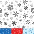 Royalty-Free Stock Vektorgrafik: Seamless Snowflakes Pattern