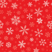 Seamless Snowflakes Pattern — Vetorial Stock