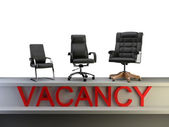 Vacancy group — Stock Photo