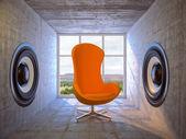 Современная комната — Стоковое фото
