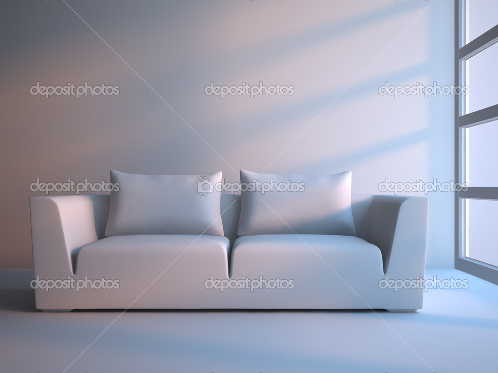 3d interior composition and modern stile — Stock Photo #1770039
