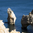 Stock Photo: Beautiful beach of Algarve, Lagos, Portu