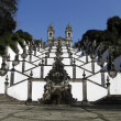 Stock Photo: Beautiful church and stairs in Bom Jesus