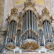 Great Organ in the Old Church — Stock Photo