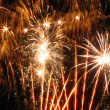 Firework on sky — Stockfoto