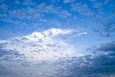 Sky with the clouds is good background — Stock Photo