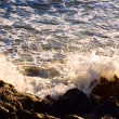 Wave at Atlantic ocean — Stock Photo