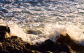 Wave at Atlantic ocean — Foto Stock