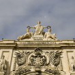 Stock Photo: AugustStreet Arch in Commerce Square in Lisbon