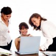 Successful business team working — Stock Photo