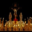 The Christian church candlestick — Stock Photo