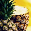 Royalty-Free Stock Photo: Ripe pineapple with slices