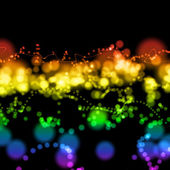 Bright colorful light circles — Stockfoto