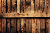 Old brown wood fence — Stock Photo