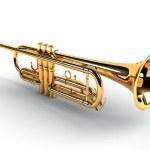 Trumpet — Stock Photo #1030214