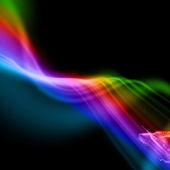 Abstracte kleurrijke golven — Stockfoto