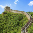 große Mauer in china — Stockfoto