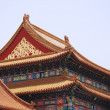 Stock Photo: Ancient temple in Forbidden City