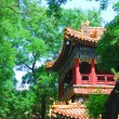 Ancient temple of emperor in garden ofFo — Stock Photo