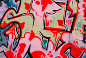 Graffiti - arte urbana — Foto Stock