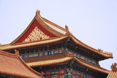 Ancient temple in Forbidden City — Stock Photo