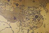 Map of China — Stock Photo