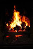 Burning flame — Stock Photo
