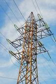Electricity line — Stock Photo