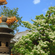 Stock Photo: Old asitemple in garden