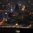 View of night Shanghai — Stock Photo