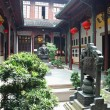 Ancient chinese house — Stock Photo