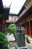 Ancient chinese house — 图库照片