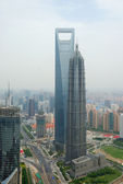 Cityscape of Shanghai — Stock Photo