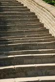 万里の長城のレンガ — ストック写真