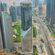 Стоковое фото: Pudong district in Shanghai