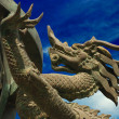 Bronze dragon — Stock Photo #1025258