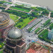 Stock Photo: Huangpu bird eye view
