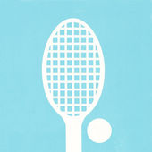 Sign of tennis — Stock Photo