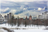Early spring in Moscow — Stock Photo