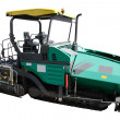 Stock Photo: Asphalt spreading machine