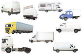 Trucks — Stock Photo