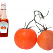 Royalty-Free Stock Photo: Tomatos and ketchup