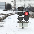 railway traffic lights — Stock Photo #1404251