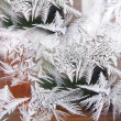Ice patter — Stock Photo