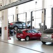 Car-care workshop - Foto Stock